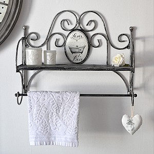 Iron Shelf Le Bain