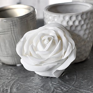 Decor Rose White 7 cm