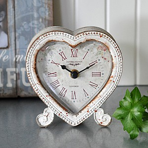 Table Clock Heart