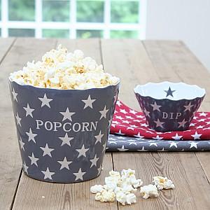Popcornskål/Skål Popcorn Star - Mörkgrå (Charcoal)