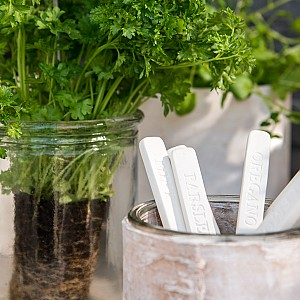 Herb markers 10 pcs