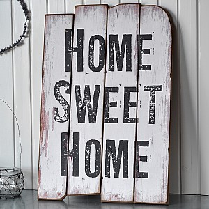 Wooden Sign HOME SWEET HOME
