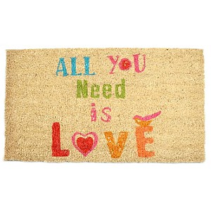 Doormat All you need is love