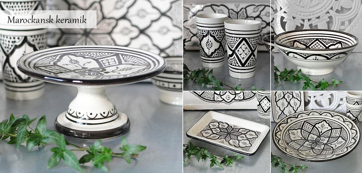 Atlas Home - Marockansk keramik