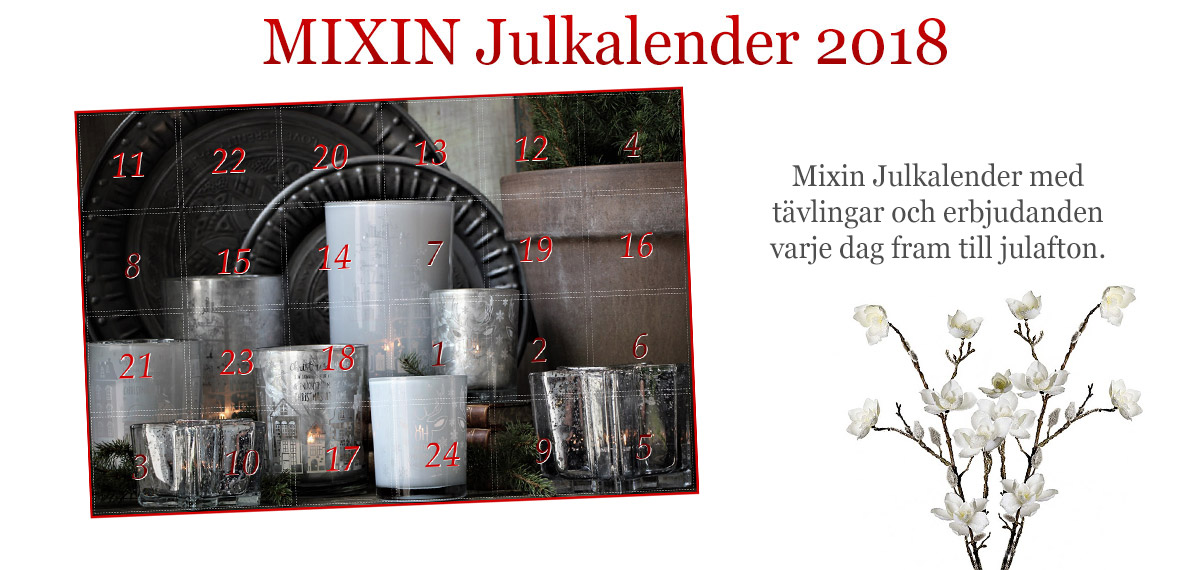 Mixin Julkalender 2018
